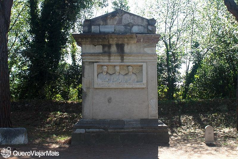 Tour de bike na Via Appia Antica