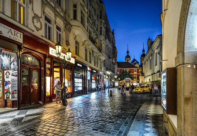 Vida noturna de Praga