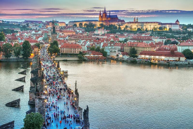 Roteiro a pé por Praga