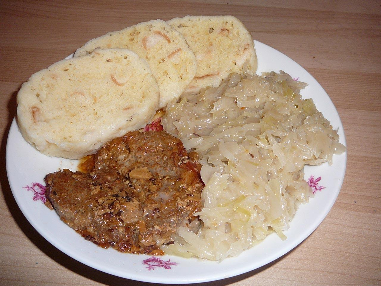 Comidas típicas da República Tcheca