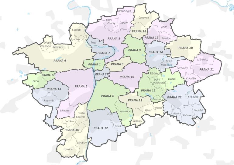 onde fica praga no mapa Praga: onde ficar e bairros para aproveitar melhor a cidade  onde fica praga no mapa