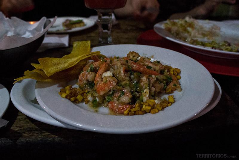 Onde comer em San Salvador