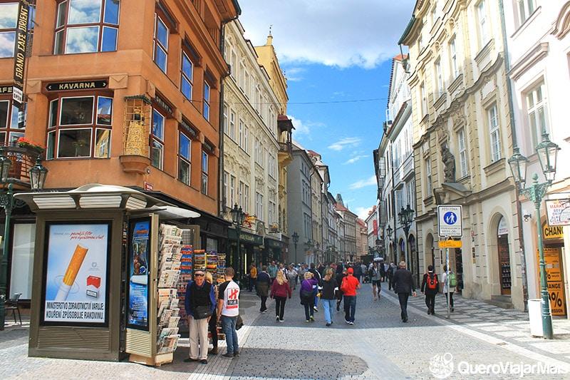 Pontos de interesse em Praga