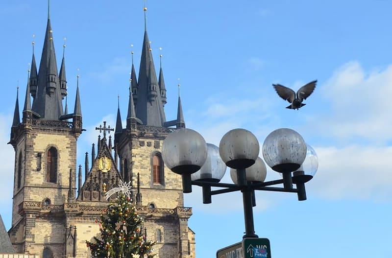 Torre Gótica em Praga