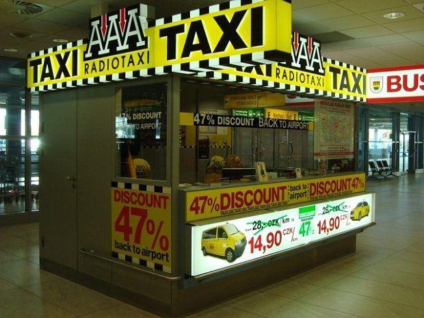 Taxi para o centro