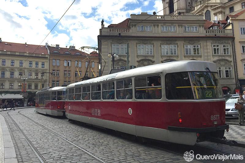 Transporte público em Praga