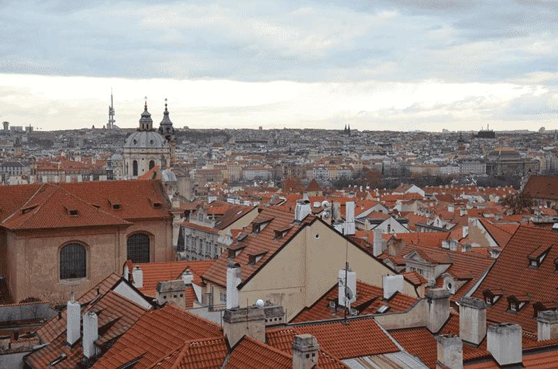 arredores do Castelo de Praga