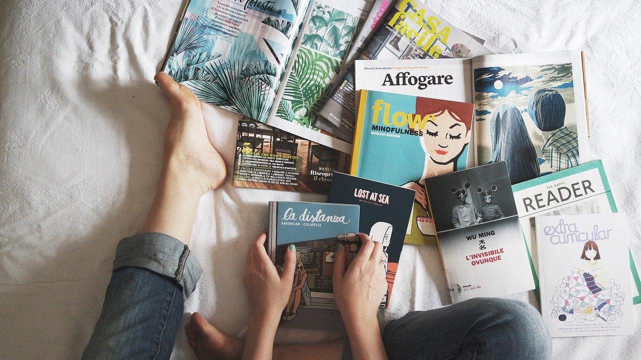 ler livro em voz alta