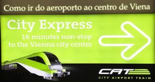 Aeroporto, transporte e como ir ao centro de Viena