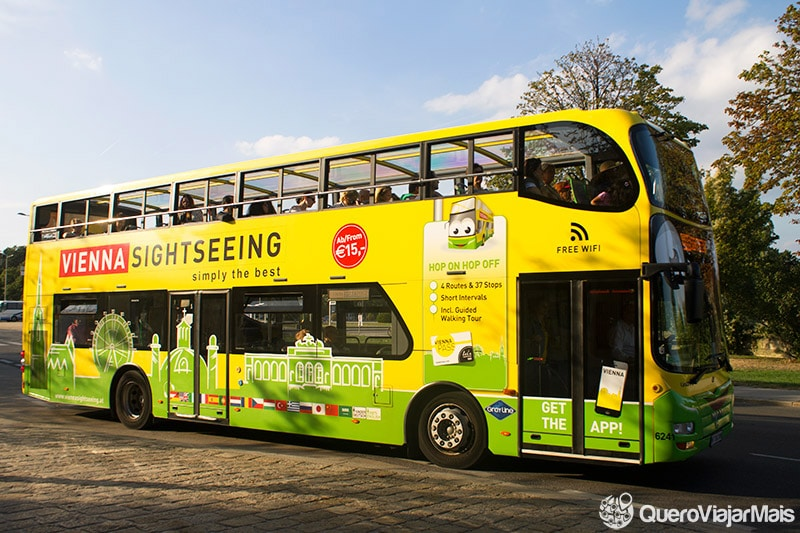 Ônibus turístico de Viena