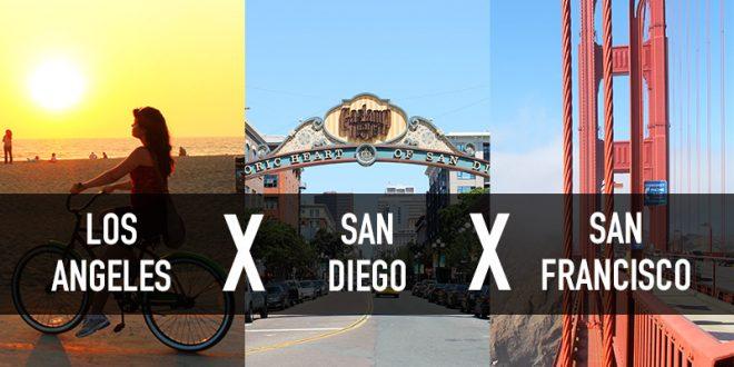 qual a melhor cidade da Califórnia para fazer intercâmbio