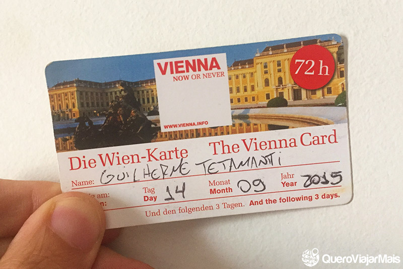 Vale a pena comprar o Vienna Card?