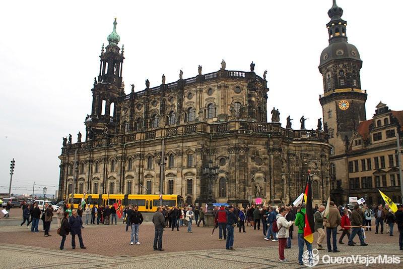 Pontos de interesse em Dresden