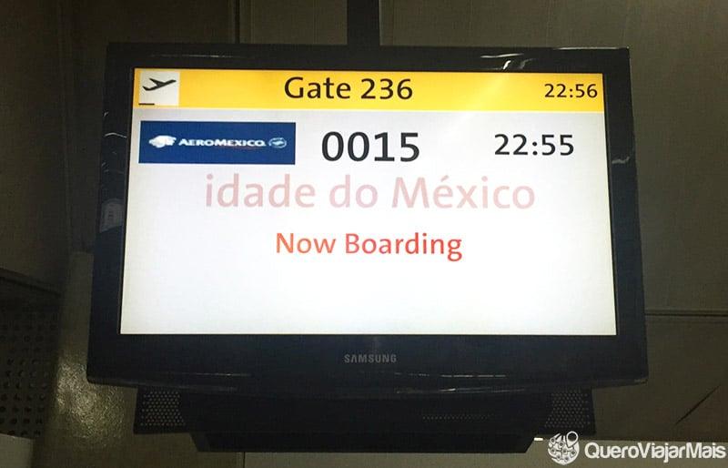 Como é voar na Aeromexico?