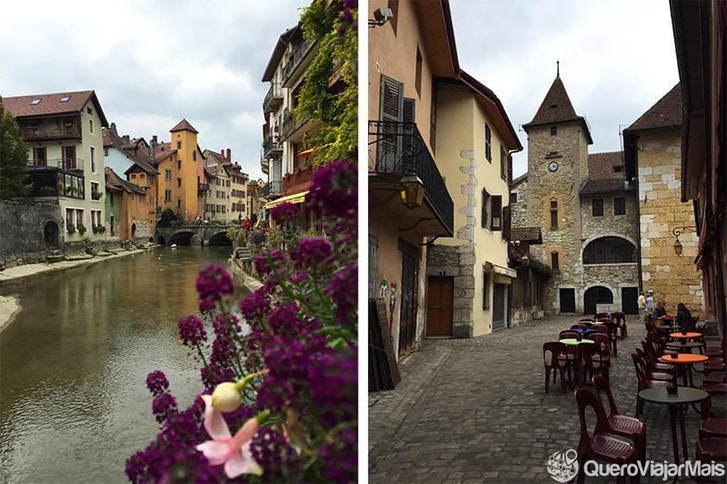 Pontos de interesse em Annecy