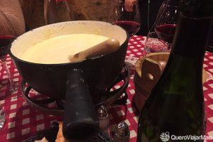 Pratos típicos em Annecy