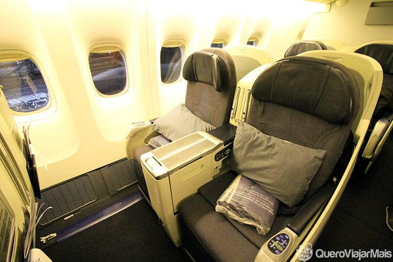 Como é voar na executiva da Aeromexico