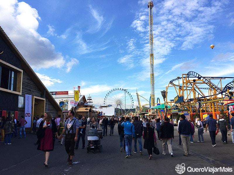 Local da Oktoberfest de Munique