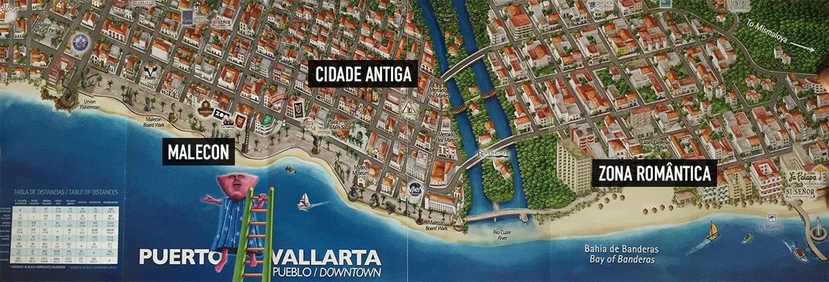 Mapa de Puerto Vallarta