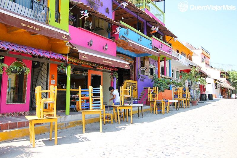 Pueblo Mágico com praia no México