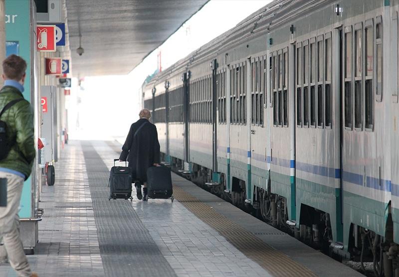 Trem na Europa como é