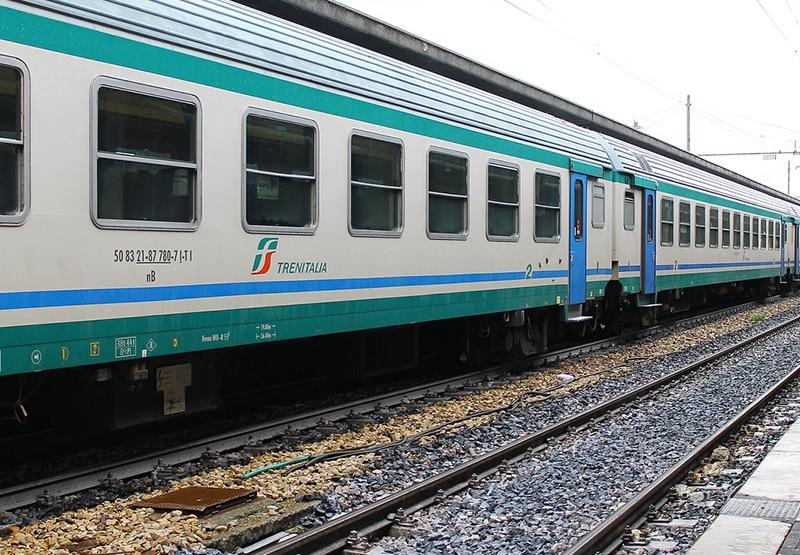 Trem barato na Itália