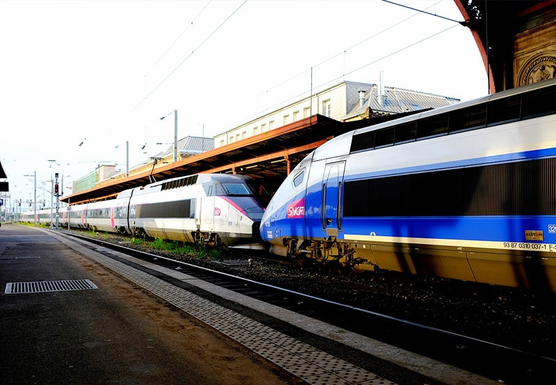 Como andar de trem barato na Europa