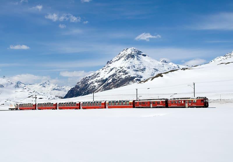 Rotas mais bonitas de trem na Europa
