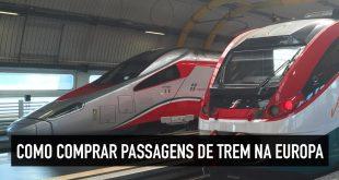 Como comprar passagens de trem na Europa