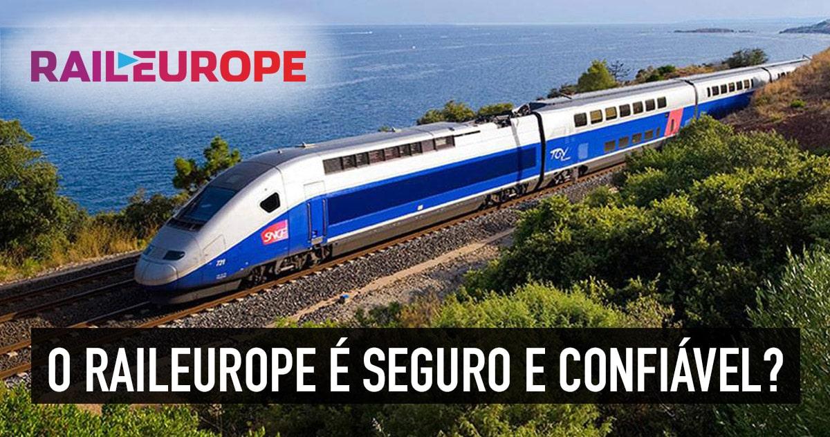 O RailEurope é seguro e confiável?