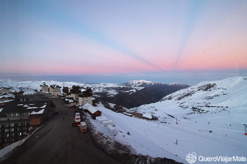 Lugares com neve na América do Sul