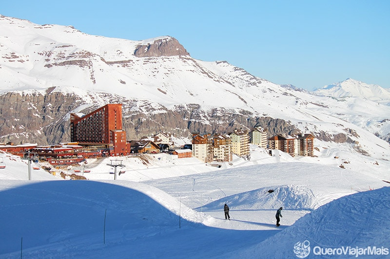 neve no Valle Nevado, Chile