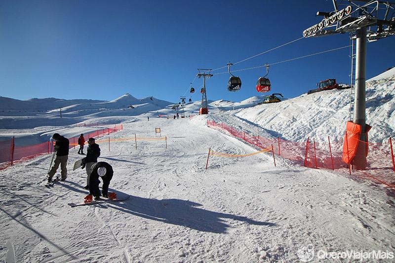 Experiência no Valle Nevado