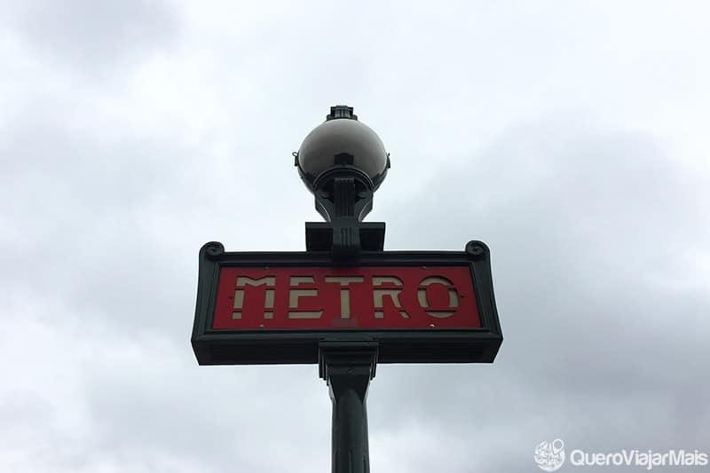 Metrô é a melhor opção de transporte