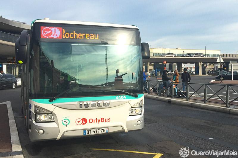 Transporte do aeroporto ao centro de Paris