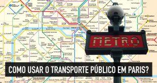 Como funciona o metrô e transporte público em Paris