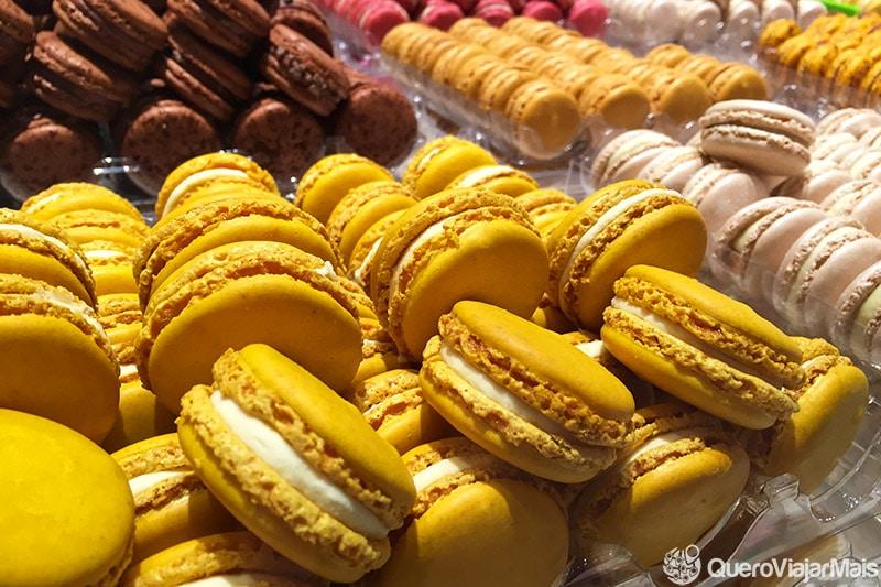 Doces e sobremesas de Paris