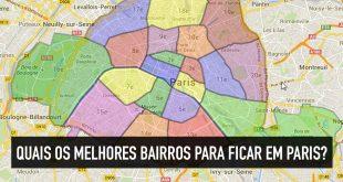 Onde se hospedar em Paris: mapa dos melhores bairros e hotéis