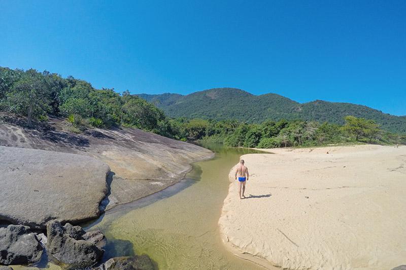 Praia de Parnaioca, Iha Grande/RJ