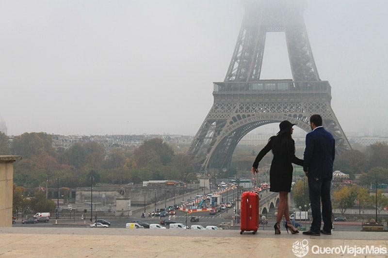 Melhor vista da Torre Eiffel