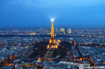 Pontos turísticos populares em Paris