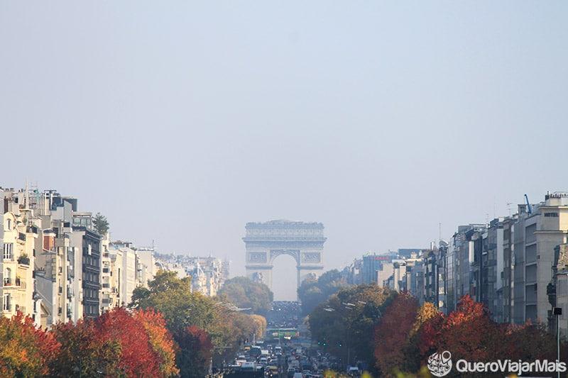 Lugares mais visitados de Paris