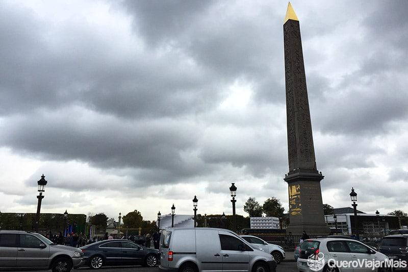 Pontos turísticos importantes em Paris