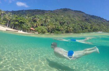 Praias desertas de Ilha Grande