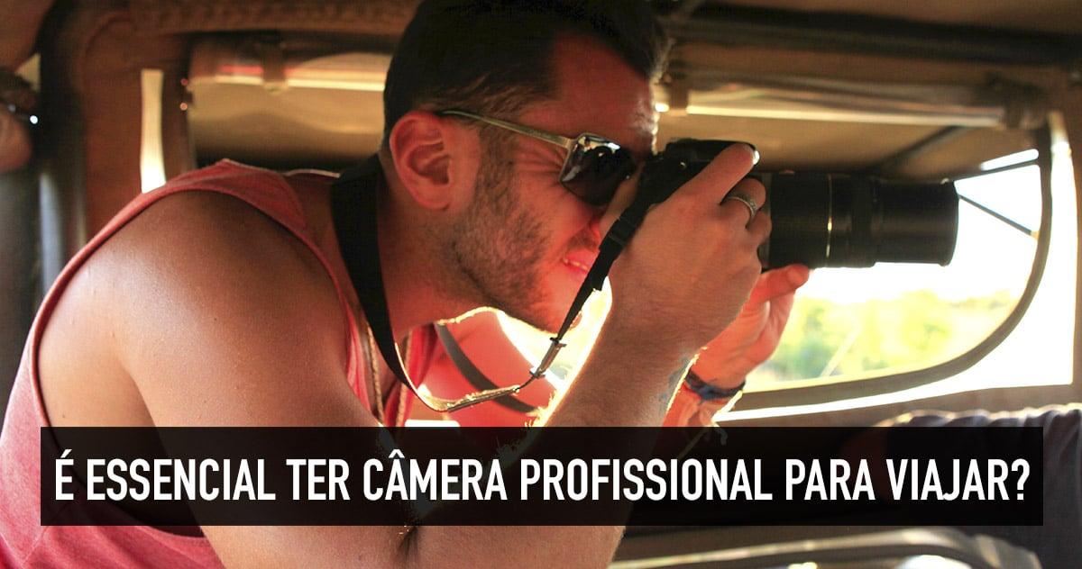 Comprar câmera fotográfica profissional para viajar