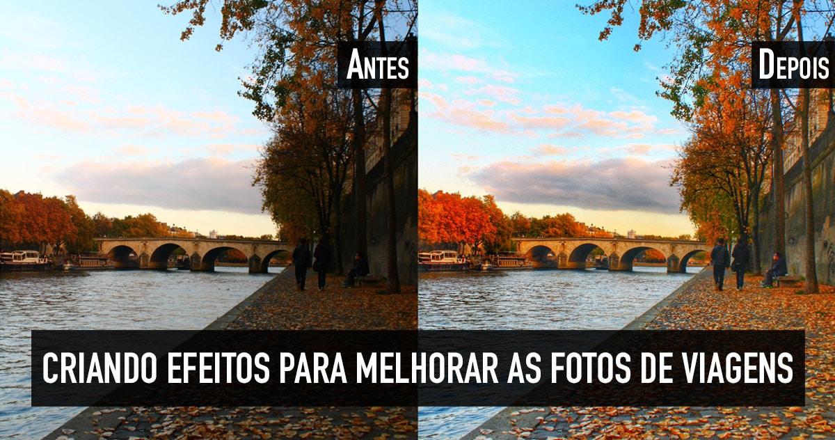 Como criar efeitos para fotos
