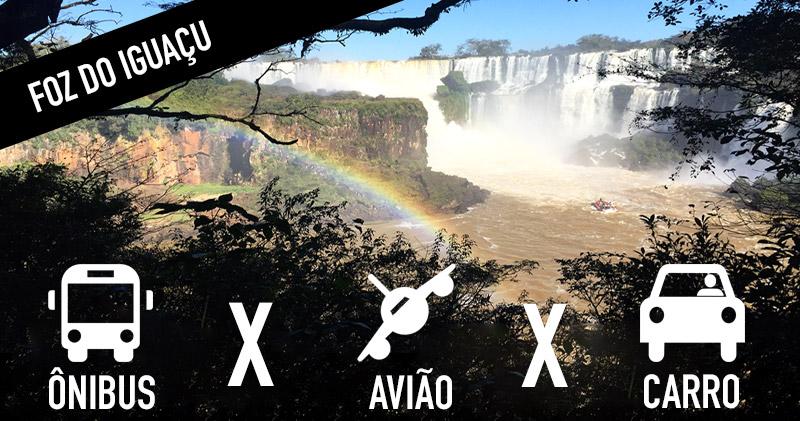 Dicas para chegar em Foz do Iguaçu