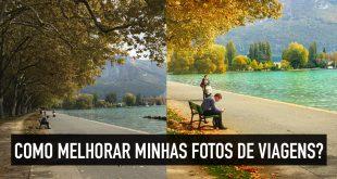 Como melhorar fotos de viagens