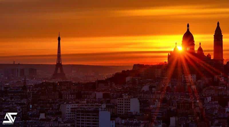 Fim de tarde em Paris