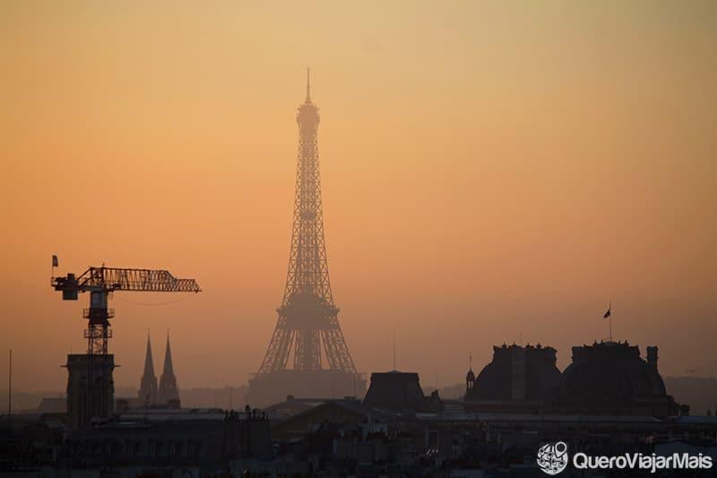 Vistas da Torre Eiffel